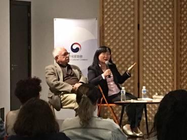 Presentación de «El hombre Gris» en Centro Cultural Coreano