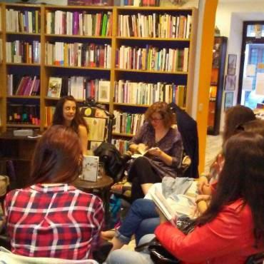 Presentación en Madrid de «Las malas lenguas», de Lise Segas