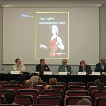 Presentación de la biografía  «Juan Andrés (1740-1817)»