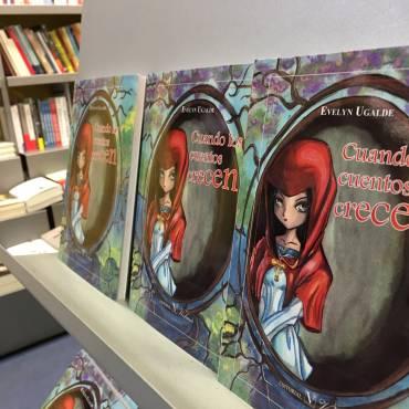 «Cuando los cuentos crecen», presentación en Librería Lé