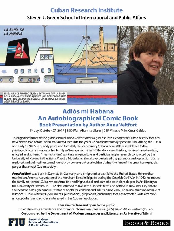 Presentación de «Adiós mi Habana»