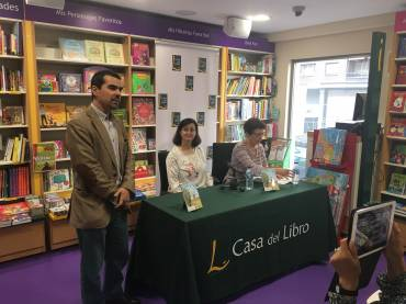 Presentación en Madrid de «Adela y los pájaros», de Gloria Carrasco