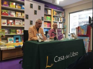 Presentación en Madrid de «La estirpe de babel», de Ángel Esteban