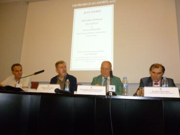 Entrega del VIII Premio Juan Andrés en la Biblioteca Histórica UCM