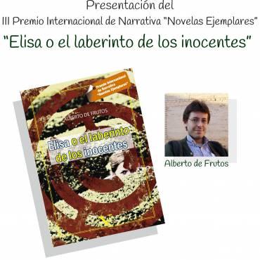 Presentación premio «Novelas Ejemplares»