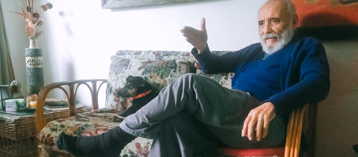 Entrevista a Rafael Alcides en el estornudo