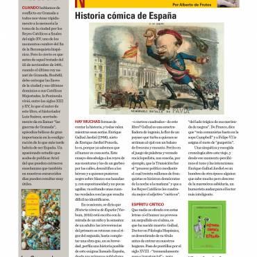 Reseña de «Historia Cómica de España», de Enrique Gallud Jardiel
