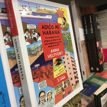 Presentación de «Adiós mi Habana» en librería Berkana