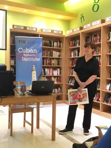 Presentación de «Adiós mi Habana», de Anna Veltfort, en Miami