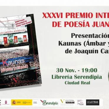 """Presentación Libro """"Premio de Poesía de la Facultad de Letras"""" – ManchaArte 2017"""