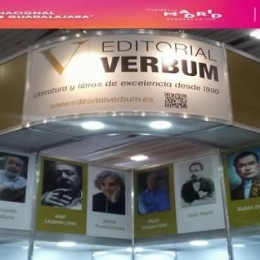Editorial Verbum en la 31 Feria Internacional del Libro de Guadalajara