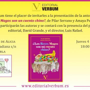 Presentación de «¿Los Reyes Magos son un cuento chino?», de Pilar Serrano y Amaya Perucha