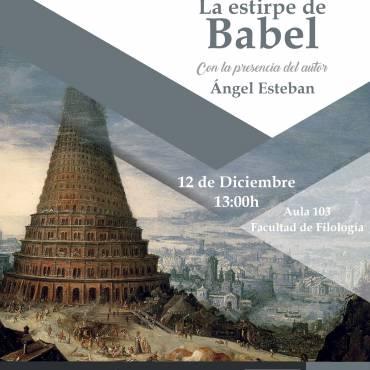 Presentación del libro «La estirpe de Babel», de Ángel Esteban
