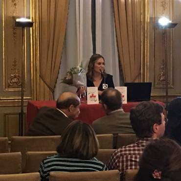 El origen del mundo, de Mercedes Pérez Agustín presentado en Casa de América